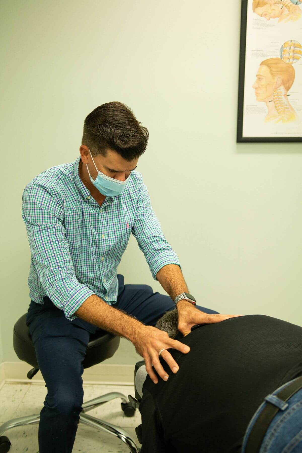 Picture of our staff that treats herniated discs in Fort Pierce, FL